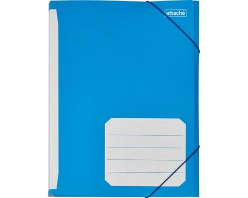 Папка на резинках Attache А4 картонная 400 г/кв.м до 180 листов в ассортименте - (142057К)