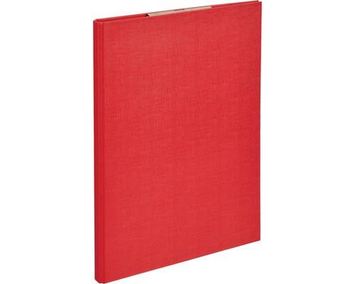 Папка-планшет Attache А4 с верхней створкой красная 1,75 мм - (611515К)