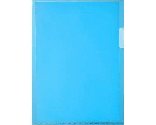 Папка-уголок Attache А5 синий 20 штук в упаковке - (517750К)