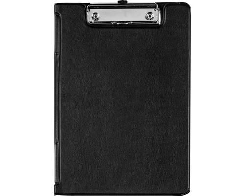 Папка-планшет с крышкой Bantex А4 картонная черная 1.9 мм - (44421К)