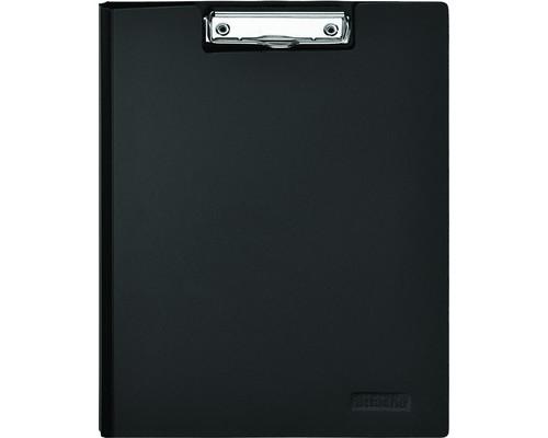 Папка-планшет с крышкой Attache А4 пластиковая черная 1.2 мм - (198683К)