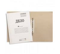 Папка-скоросшиватель Дело № картонная А4 до 150 листов белая 360 г/кв.м - (129К)