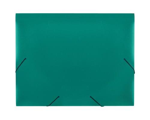 Папка на резинках Attache А4 пластиковая зеленая 0.6 мм до 200 листов - (34483К)