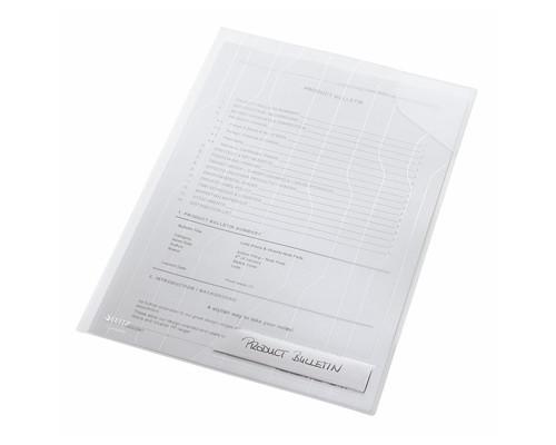 Папка-уголок CombiFile А4 прозрачная 200 мкм (3 штуки в упаковке - (94884К)