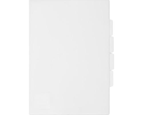 Папка-уголок прозрачный пластик А4 150 мкм 3 отделения - (319777К)