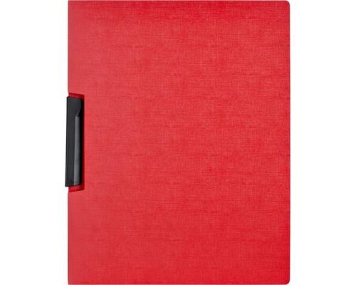 Папка для брошюровки Attache с клипом А4 красная до 30 листов - (327146К)