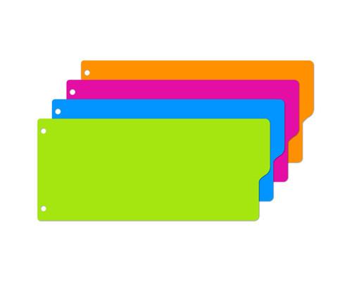 Разделитель листов Attache Selection пластиковый 12 листов цветной 105x240 мм - (328392К)