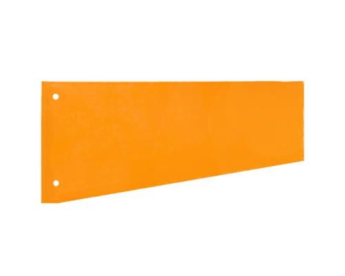 Разделитель листов Attache картонный 100 листов оранжевый 230x120 мм - (216164К)
