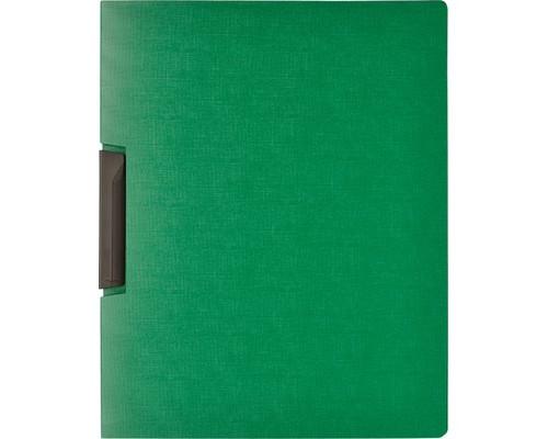Папка для брошюровки Attache с клипом А4 зеленая до 30 листов - (327147К)
