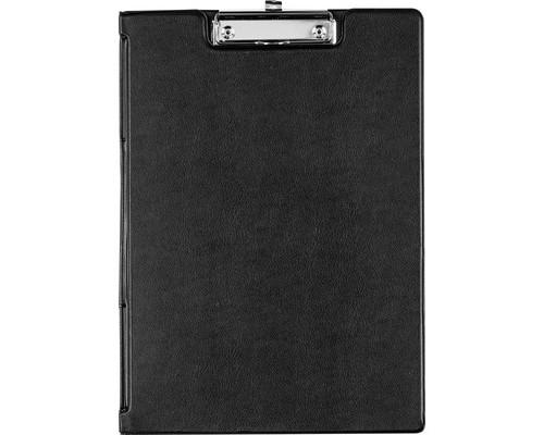 Папка-планшет с крышкой Bantex А4 картонная черная 1.9 мм - (12636К)
