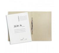 Папка-скоросшиватель Дело № картонная А4 до 50 листов белая 260 г/кв.м 20 штук в упаковке - (131078К)