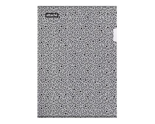 Папка-уголок Attache Confidence пластиковая А4 180 мкм - (611504К)