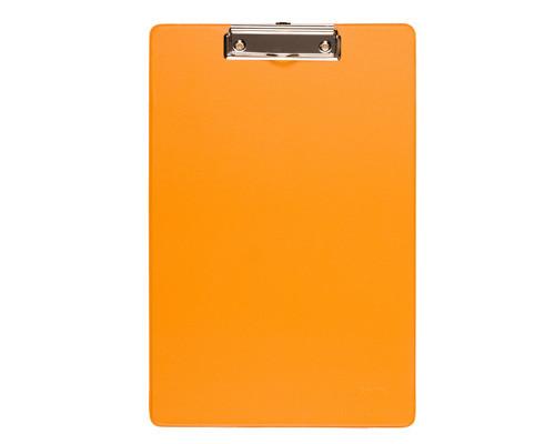 Папка-планшет Bantex А4 картонная оранжевая 2.7 мм - (248683К)
