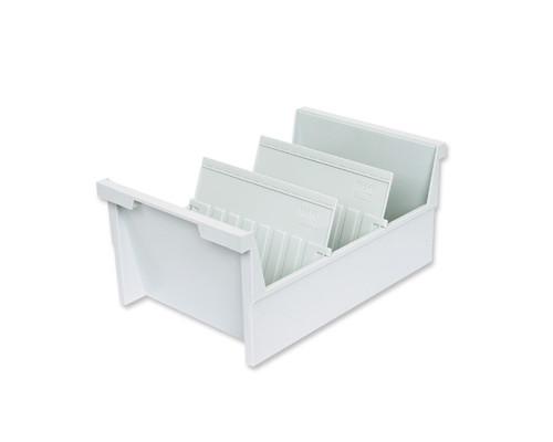 Картотека для карточек Han А5 на 1000 карточек 325x226x160 мм открытая - (56634К)