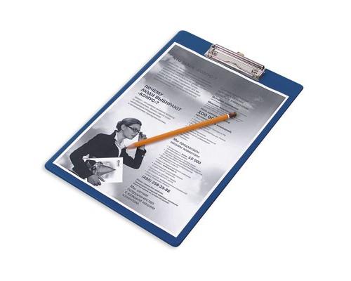 Папка-планшет Bantex А4 картонная синяя 2.7 мм - (12635К)