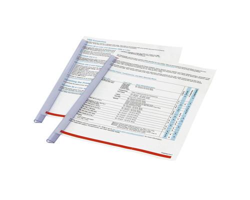 Скрепкошина для брошюровки Durable А4 прозрачная до 30 листов - (48734К)
