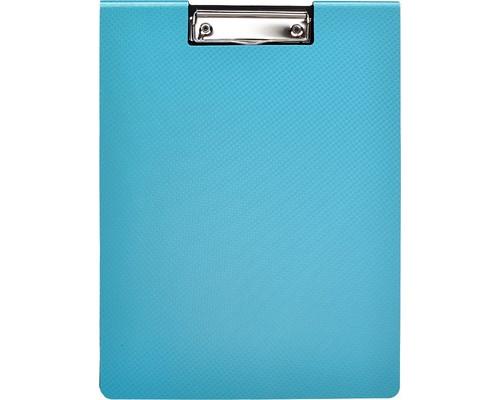 Папка-планшет с крышкой Attache Selection А4 пластиковая бирюзовая 2.3 мм - (476526К)