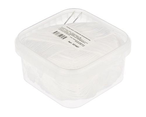 Набор для сшивания документов в герметичном контейнере белая нить 2 иголки - (321457К)