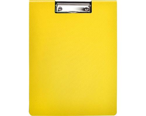Папка-планшет с крышкой Attache Selection А4 пластиковая желтая 2.3 мм - (476528К)