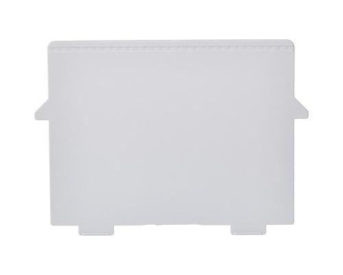 Пластиковый горизонтальный разделитель для картотеки А6 Exacompta 2 штуки - (387405К)