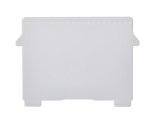 Пластиковый горизонтальный разделитель для картотеки А7 Exacompta 2 штуки - (387406К)