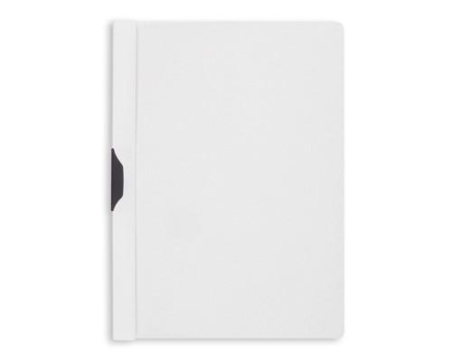 Папка для брошюровки Bantex с клипом А4 белая до 30 листов - (2536К)