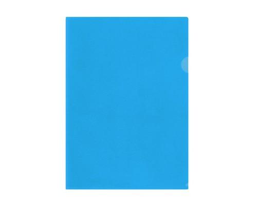 Папка-уголок Attache А4 синяя 150 мкм 10 штук в упаковке - (627969К)