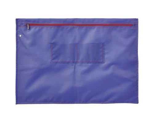 Папка на молнии Attache Confidence с отверстием для опломбирования А3+ фиолетовая 1.2 мм - (611510К)