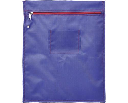 Папка на молнии Attache Confidence с отверстием для опломбирования А4+ фиолетовая 1.2 мм - (611485К)