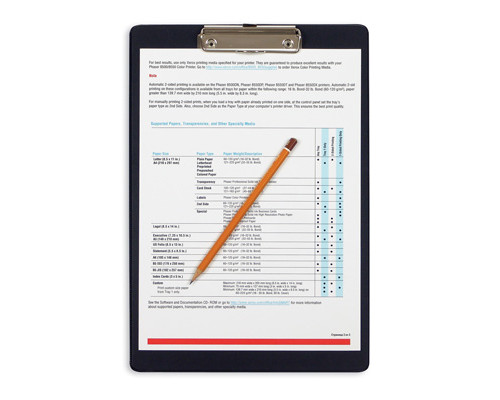 Папка-планшет Bantex А4 картонная черная 2.7 мм - (48801К)