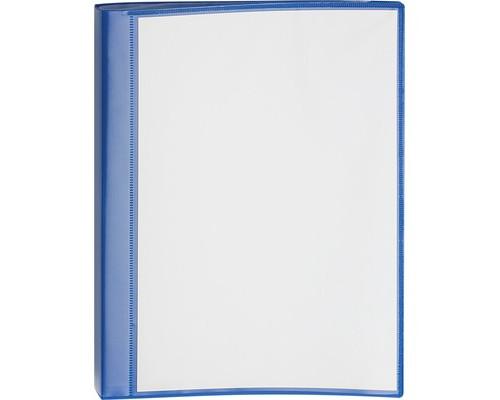 Папка-скоросшиватель Attache Pocket с пружинным механизмом А4 синяя 0,7 мм - (620717К)