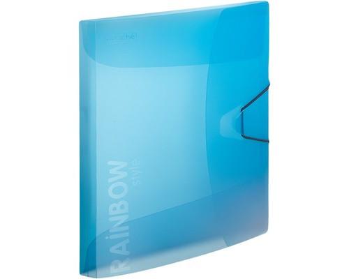 Папка на резинках Attache Rainbow А4 пластиковая голубая 0.45 мм до 200 листов - (488252К)