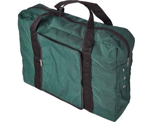 Папка-сумка Attache для секретных документов нейлоновая зеленая 430х340х110 мм 1 отделение - (611482К)