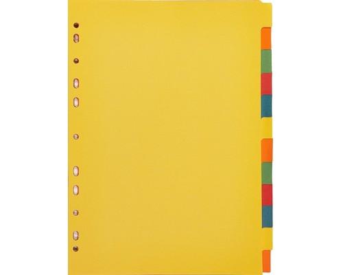 Разделитель листов Attache А4 картонный 12 листов цветной 297х210 мм - (327174К)