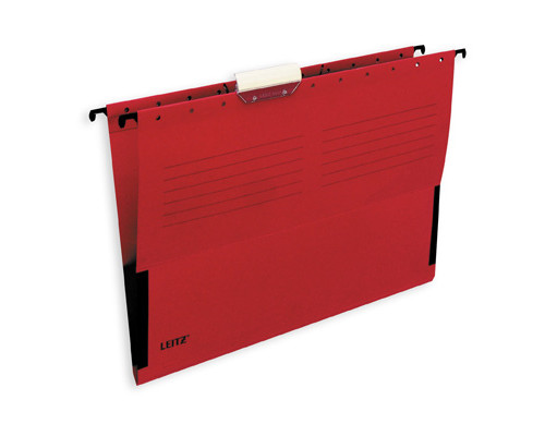 Подвесная папка Leitz А4 до 20 листов красная - (11692К)