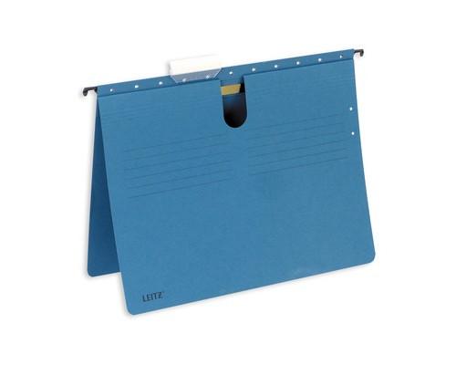 Подвесная папка Leitz Alpha А4 до 25 листов синяя - (62359К)