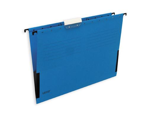 Подвесная папка Leitz А4 до 20 листов синяя - (48686К)