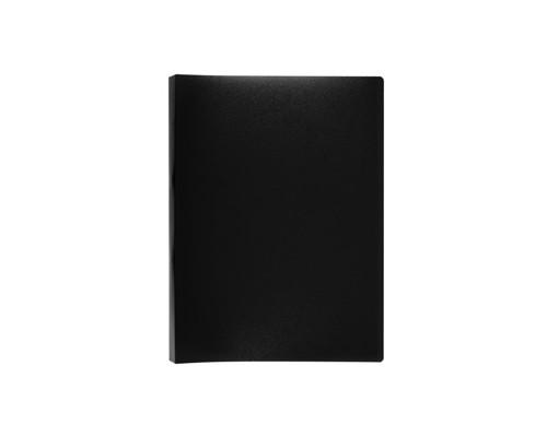 Папка-скоросшиватель с пружинным механизмом Attache пластиковая А4 черная 0.7 мм до 150 листов - (112330К)