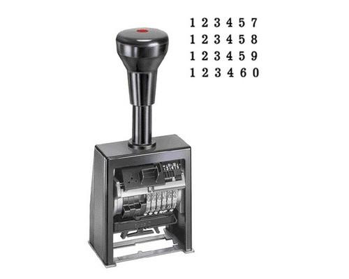 Нумератор автоматический Reiner B6K 6-и разрядный металлический корпус - (18294К)