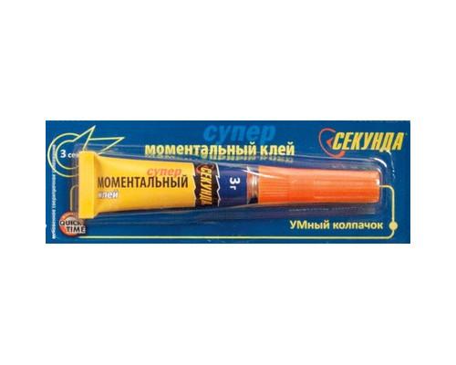 Клей Моментальный СЕКУНДА 3 г - (466710К)