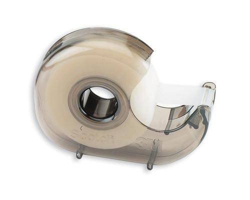 Диспенсер для клейкой ленты Scotch дымчатый - (444К)