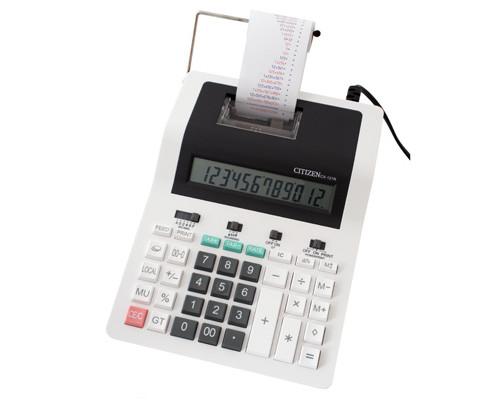 Калькулятор печатающий Citizen CX-121 N 12-разрядный - (179241К)