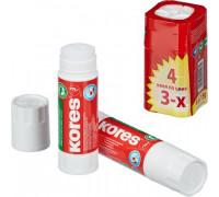 Клей-карандаш Kores 15 г 4 штуки в упаковке - (144627К)