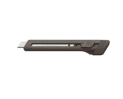 Нож канцелярский Edding E-M9 9 мм с фиксатором черный - (49971К)