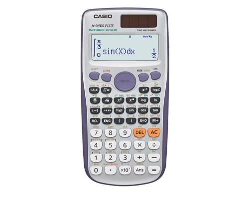 Калькулятор Casio FX991ES Plus 10+2-разрядный 417 функций - (214814К)