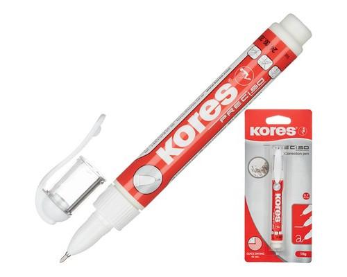 Корректирующая ручка Kores Preciso 8 мл быстросохнущая основа - (130250К)