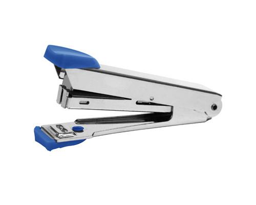 Степлер 8208 до 10 листов синий - (256107К)