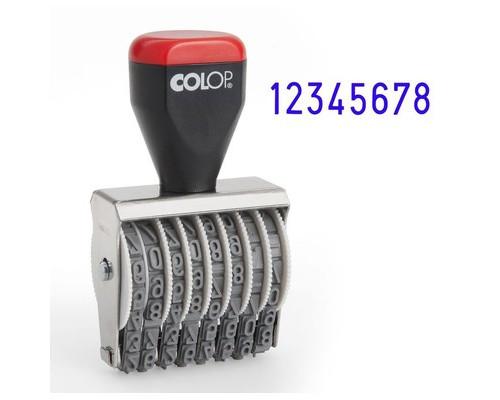 Нумератор ручной Colop 8-и разрядный шрифт 5 мм - (219001К)