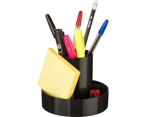 Набор настольный 10 предметов черный - (558097К)