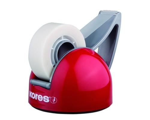 Диспенсер для клейкой ленты Kores DeskPot красный - (91502К)